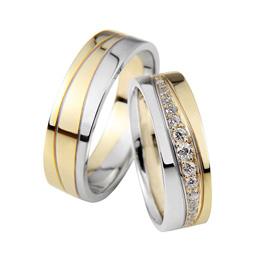 Egyedi, személyre szabható karikagyűrűk a Nikó Ékszer-nél.