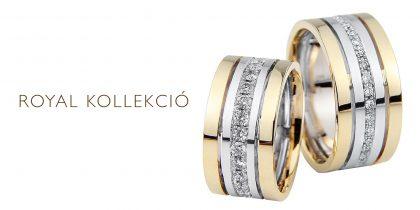 Royal karikagyűrű kollekció